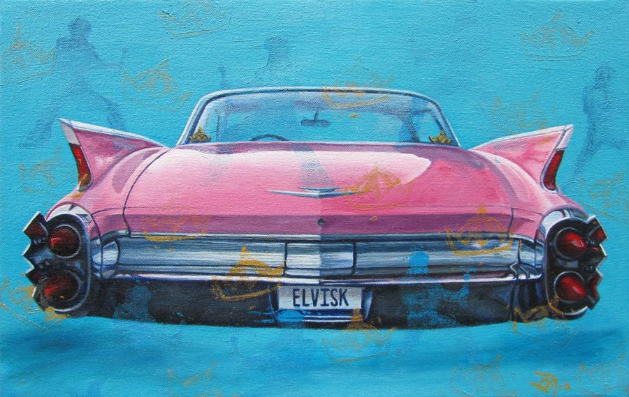 Gwendolyn Vintage Car Paintings By Gwendolyn Page 3