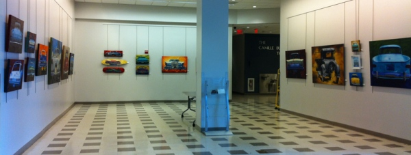 portion of gallery at the Ossining Library.