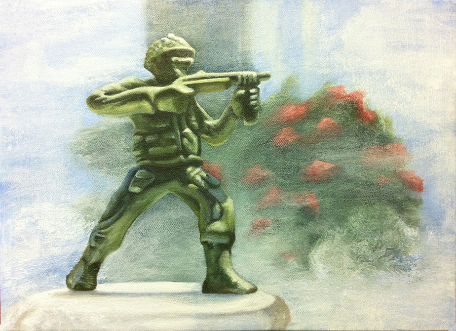 Untitled-10x12 (toy soldier)